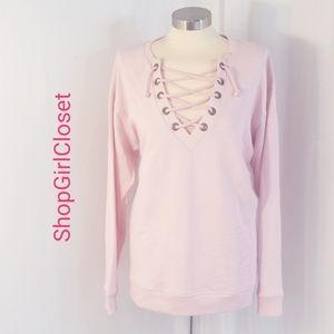 Victoria's Secret Pink Top..Pink..Sz M